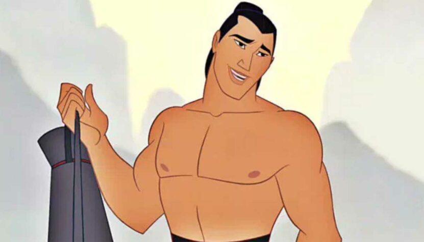 """Li Shang from """"Mulan"""""""
