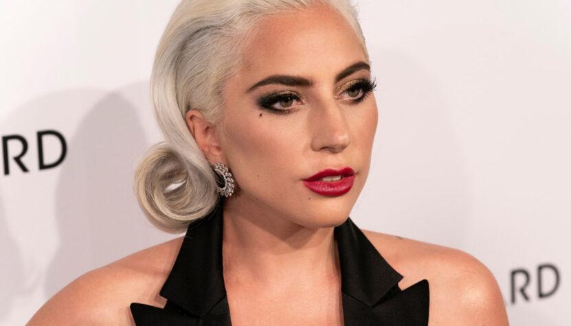 Lady Gaga at an awards show